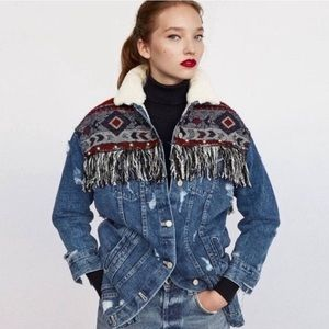 Zara Denim Jacket size Medium